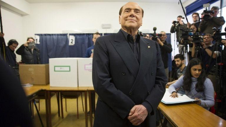 Приеха Берлускони в болница