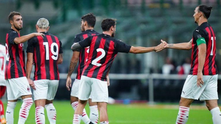 Милан с изразителна победа в дебюта на Диас