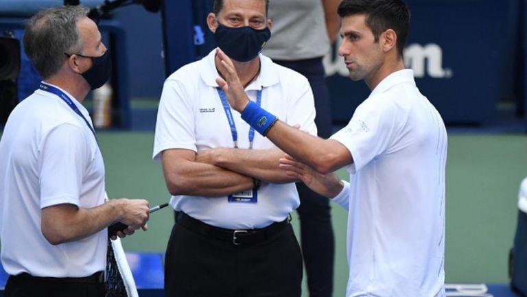 Джокович с първи коментар за дисквалификацията си от US Open