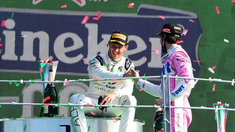 Гасли благодари на съдбата за първата си победа във Формула 1