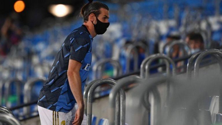 Бейл се завърна в Мадрид с контузия от мача с България