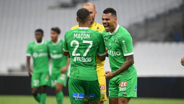 Сент Етиен с 3 от 3 в Лига 1