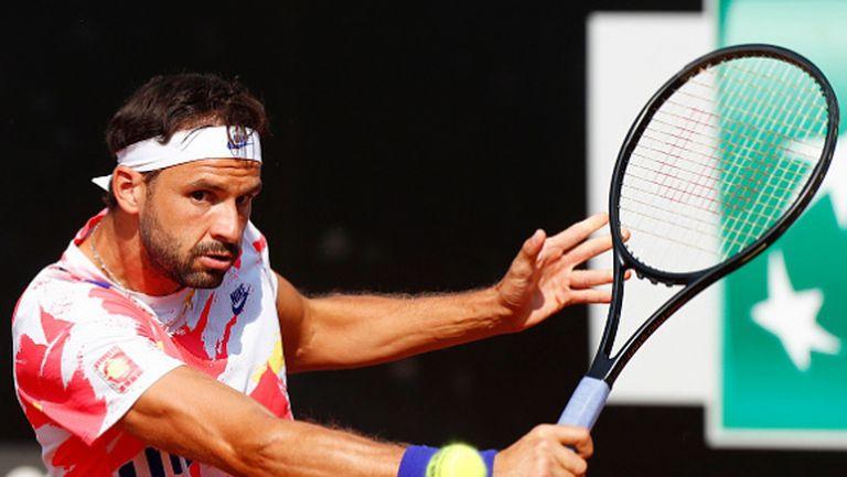 Григор се измъчи с млад талант, но е на 1/4-финал в Рим