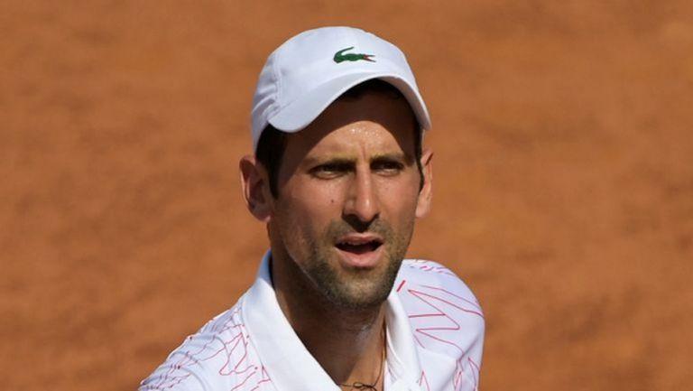 Джокович стигна неочаквано трудно до полуфиналите в Рим