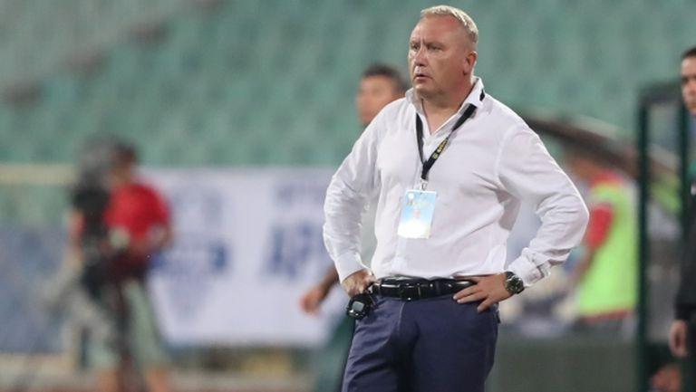 Николай Киров: Хубавото днес бе, че не опитваме с балонни центрирания да се върнем в мача