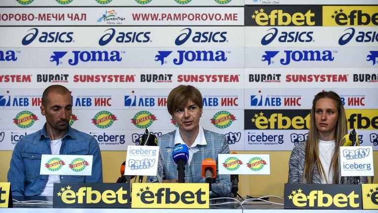 Пресконференция на федерация по биатлон