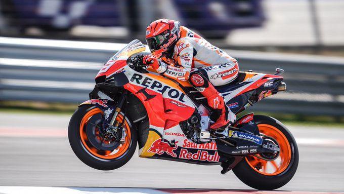 Марк Маркес се завърна в MotoGP с 3-о време в първата тренировка в Португалия