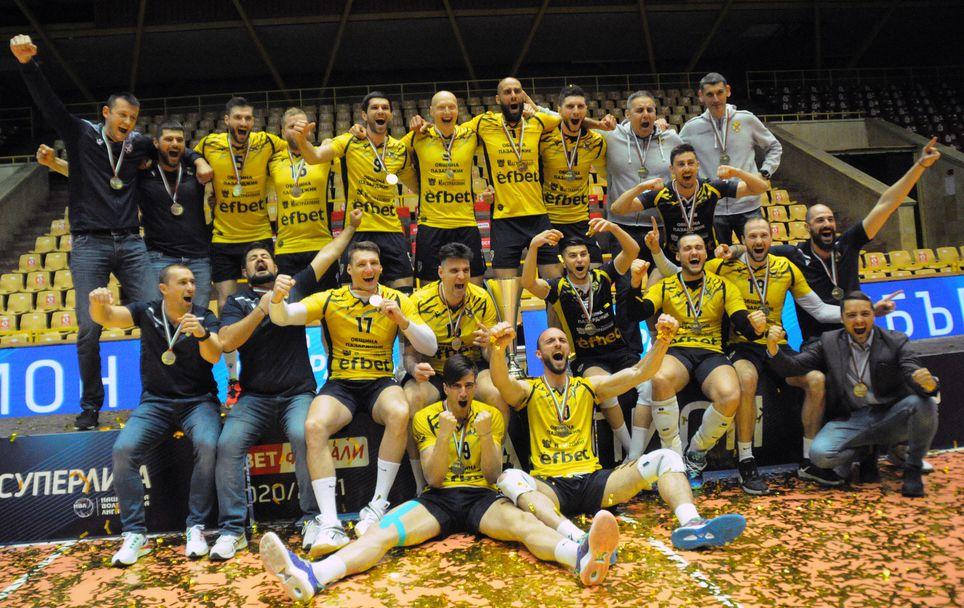Хебър (Пазарджик) спечели WINBET финалите в Суперлигата