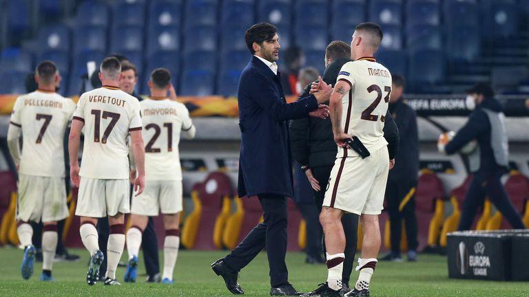 Двама основни играчи на Рома ще бъдат готови за срещите с Манчестър Юнайтед