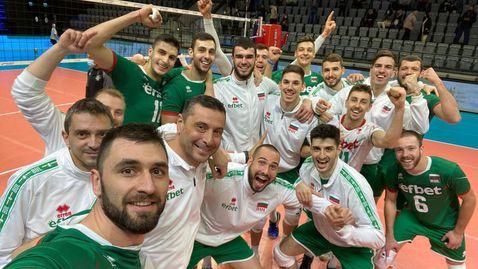 България със запазено място в Лигата на нациите при мъжете през 2022-а, жените без шанс да се върнат