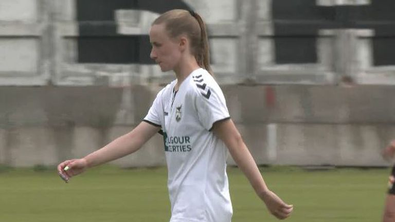 Шопска вкара втори гол за Пирин в добавеното време