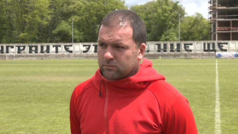 Ангел Славов: Като резултат съм доволен, но като игра има още много неща, които искам да подобрим