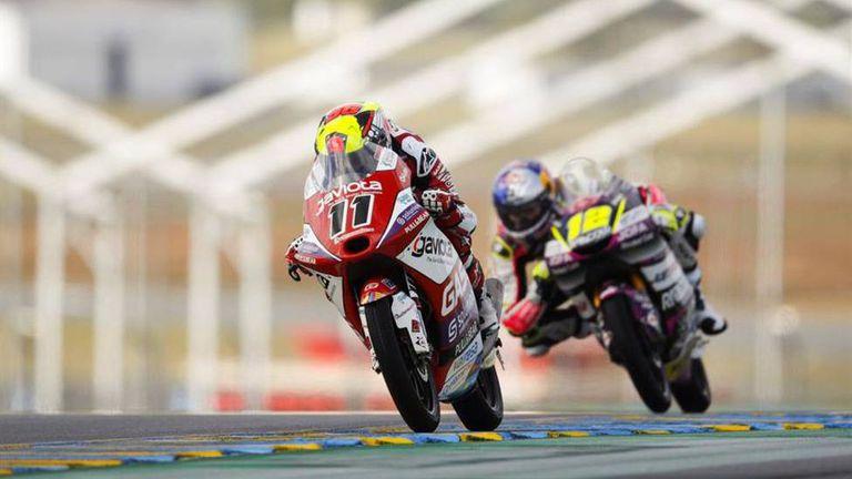 Испанец с втора победа в Moto3 в мократа Гран При на Франция