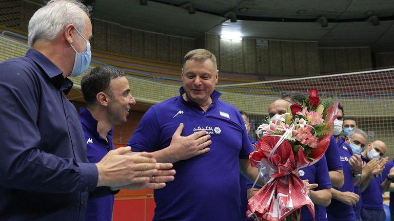 Владимир Алекно избра състава ан Иран за Лигата на нациите