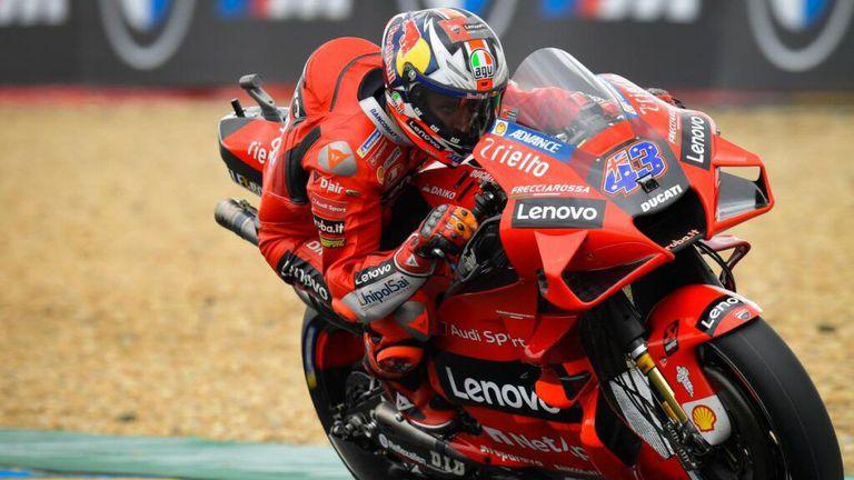 """Милър """"преплува"""" най-бързо """"Льо Ман"""" и записа втора поредна победа в MotoGP"""