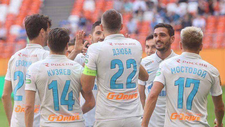 """Зенит приключи сезона по шампионски, Дзюба избухна с 4 гола и мина кота """"200"""""""