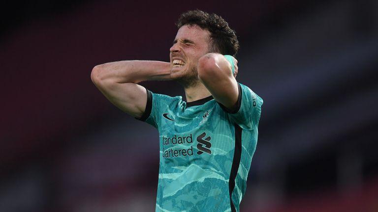 Жота пропуска последните три мача на Ливърпул