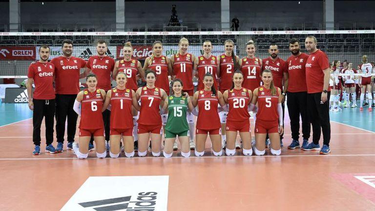 България загуби от Полша след петгеймова битка