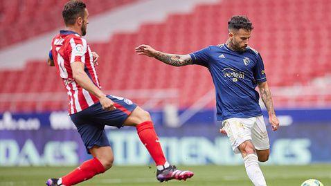 Атлетико Мадрид на крачка от титлата след драматично 2:1 срещу Осасуна