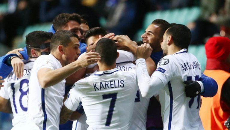Три от три за Гърция след успех в Естония (видео)
