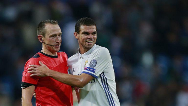 Реал Мадрид и Пепе остават в задънена улица
