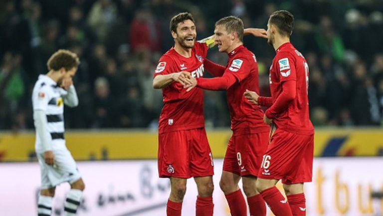 Фантастичен гол в края донесе на Кьолн триумф в дербито на Рейн (видео)
