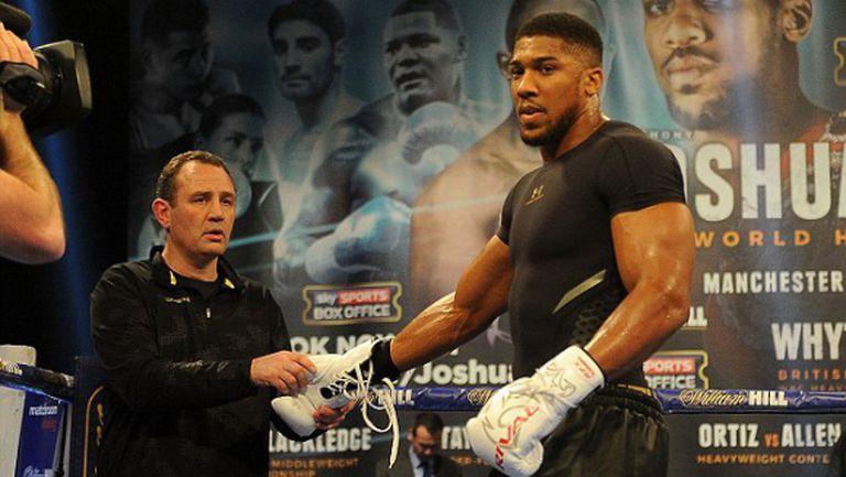 Джошуа може да се бие в Нигерия - срещу $10 милиона
