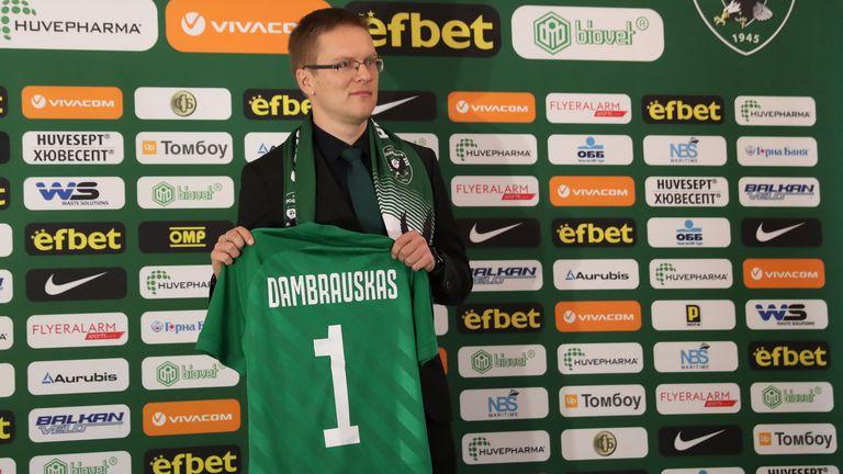 Дамбраускас няма да води Лудогорец днес