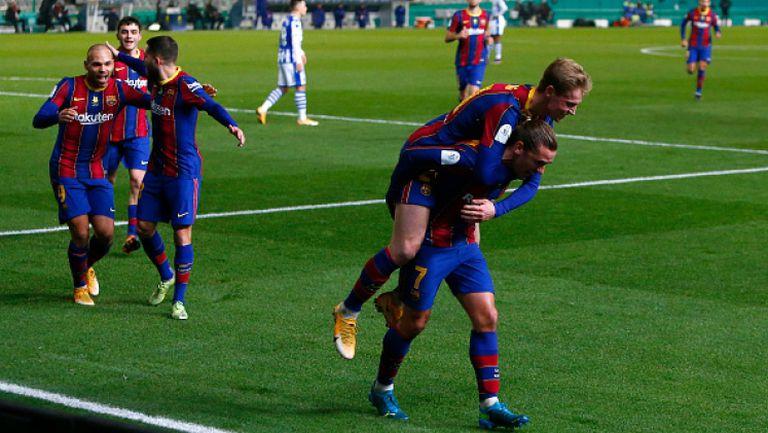 Барселона се промъкна на финал за Суперкупата на Испания