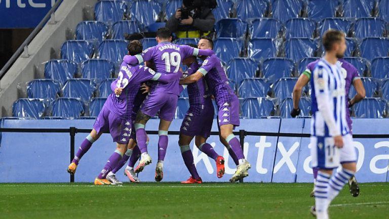 Бетис - Реал Сосиедад 3:1