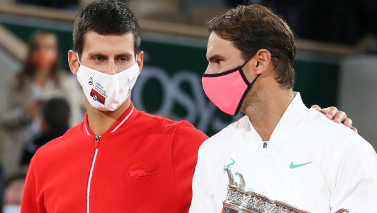 Джокович и Надал се готвят за отборна надпревара, но с мисли насочени основно към Australian Open