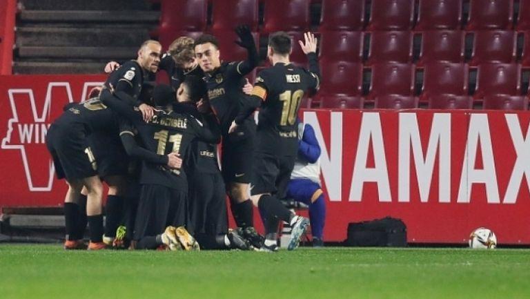 Гранада - Барселона 3:5 след прод.