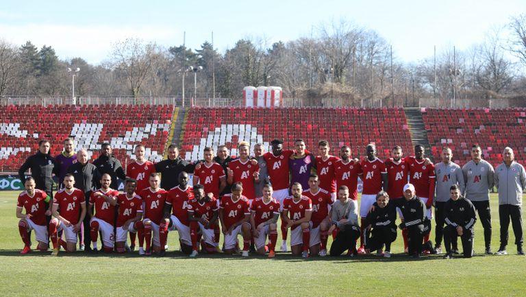 ЦСКА-София представи отбора за пролетния полусезон
