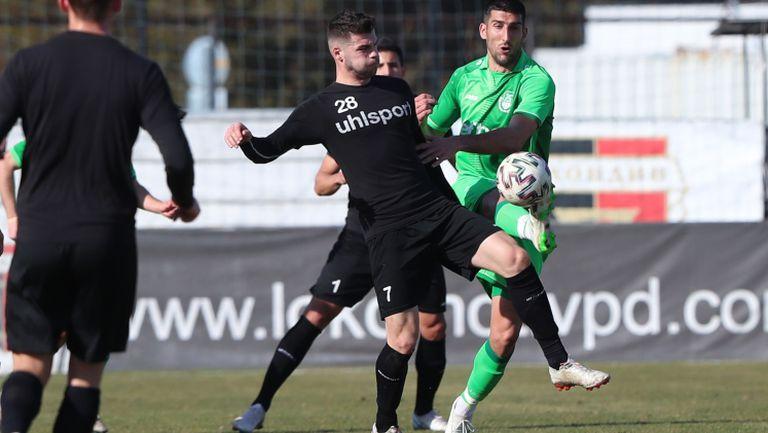 Локомотив (Пд) вкара три на Хебър в генерална репетиция преди старта на efbet Лига