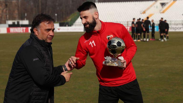 Димитър Илиев: Надявам се Локомотив да продължи възходящата си линия