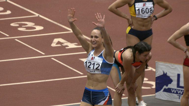 Инна Ефтимова №1 на 60 метра със 7.27 секунди