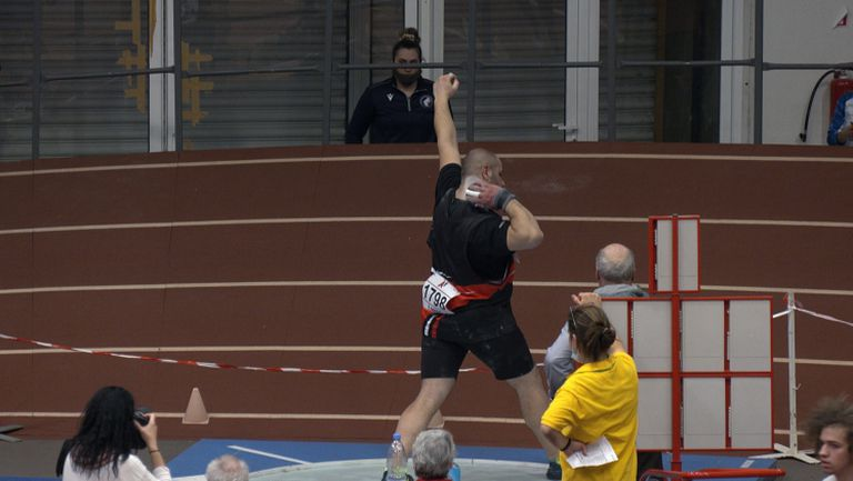 13-а титла за Георги Иванов в тласкането на гюле