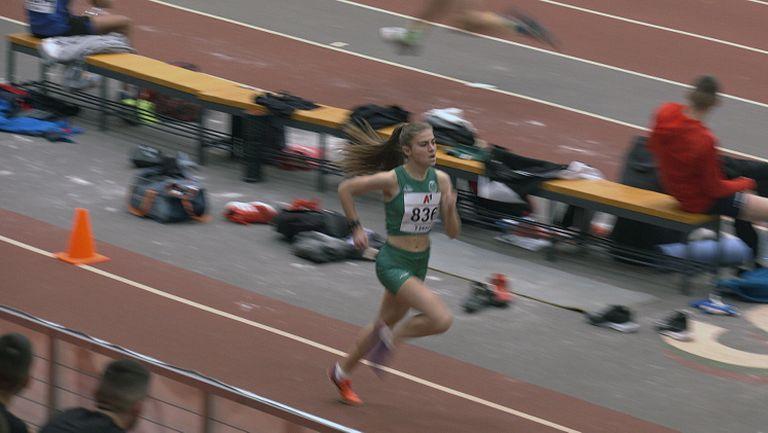 Девора Аврамова е шампионката на 1500 метра