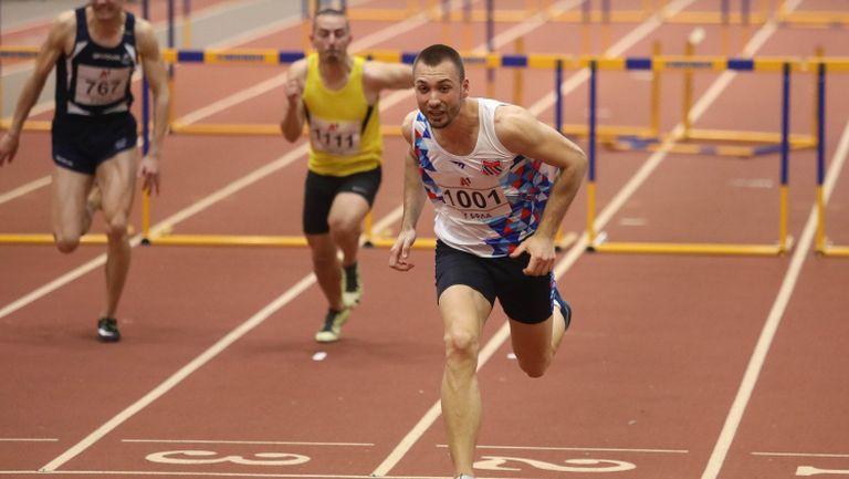 Станислав Станков отново най-бърз на 60 м/пр
