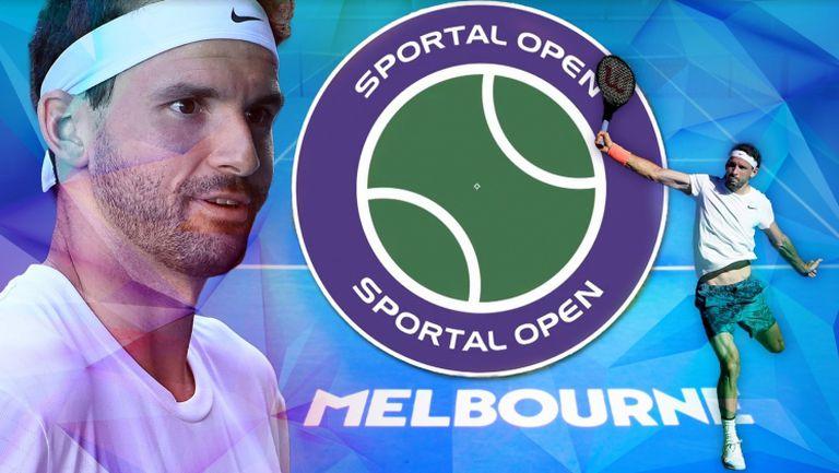 """Докъде ще мечтаем с Григор Димитров на Australian Open - Гледайте """"Sportal Open"""" с гост Никола Ибришимов"""