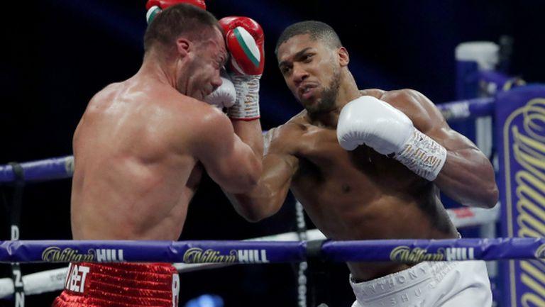 Чисора: Джошуа удари Пулев толкова силно, че Кубрат искаше да избяга от ринга