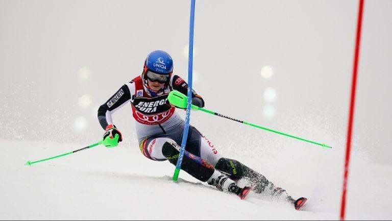 Влъхова спечели трети слалом от началото на сезона в тежките условия в Загреб