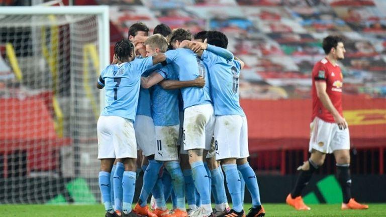 За пореден път Ман Сити е на финал, а Ман Юнайтед се препъна на предпоследното стъпало (видео)