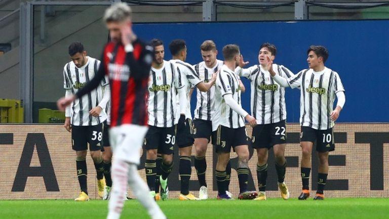 Ювентус показа шампионска игра и повали непобедения Милан (видео)