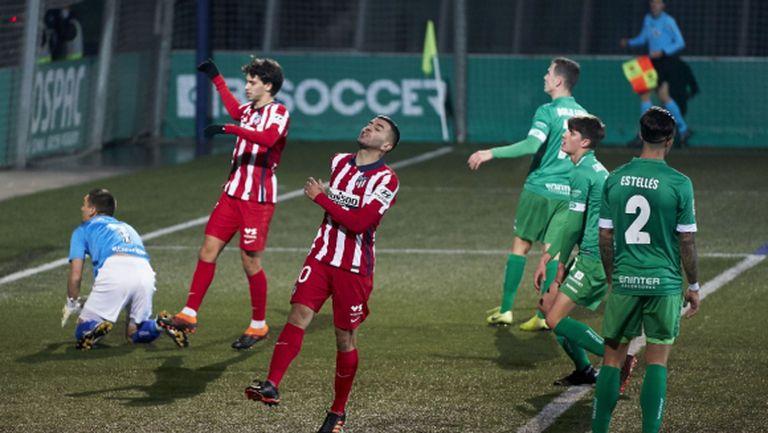 Атлетико М пак се сгромоляса срещу аматьори за Купата на Испания