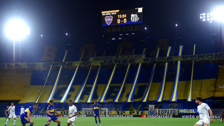 Бока Хуниорс не успя да победи Сантос в първия полуфинал за Либертадорес