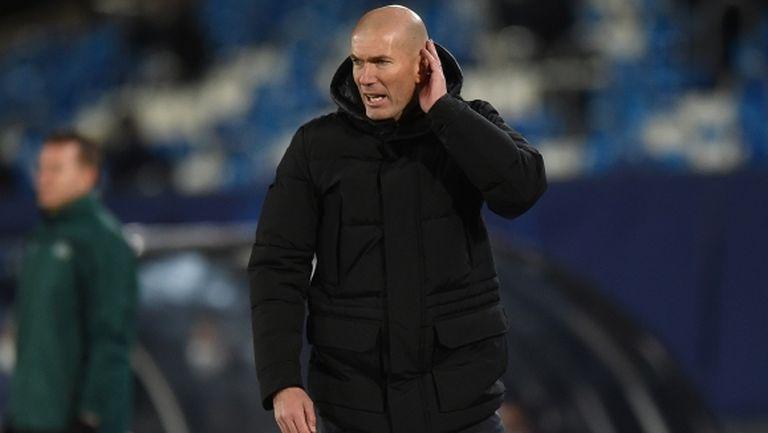 Зидан ще води Реал Мадрид срещу Осасуна