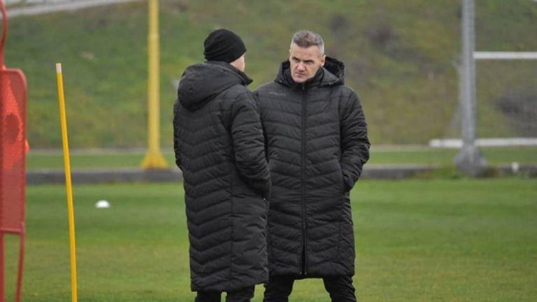 Валентич направи първа тренировка с Ботев (Пд)