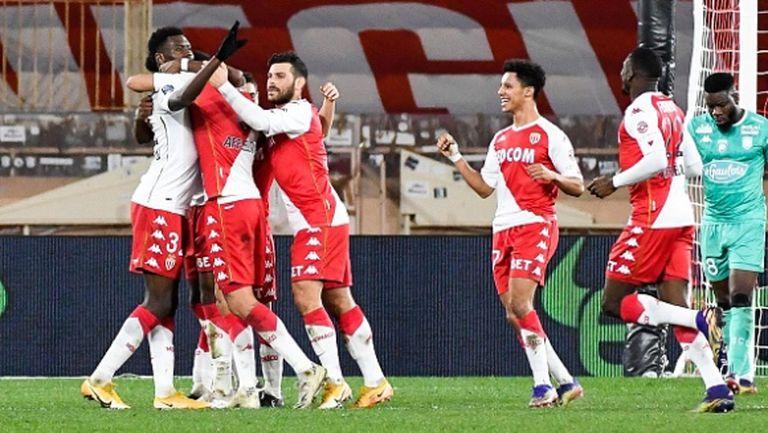 Монако се настани в топ 4, Лил с трета поредна победа като гост