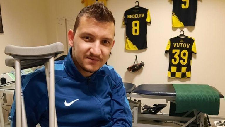 Тодор Неделев се завърна в Пловдив и стартира възстановяването си